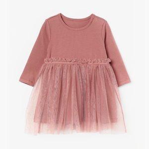 H&M toddler girl tulle skirt dress